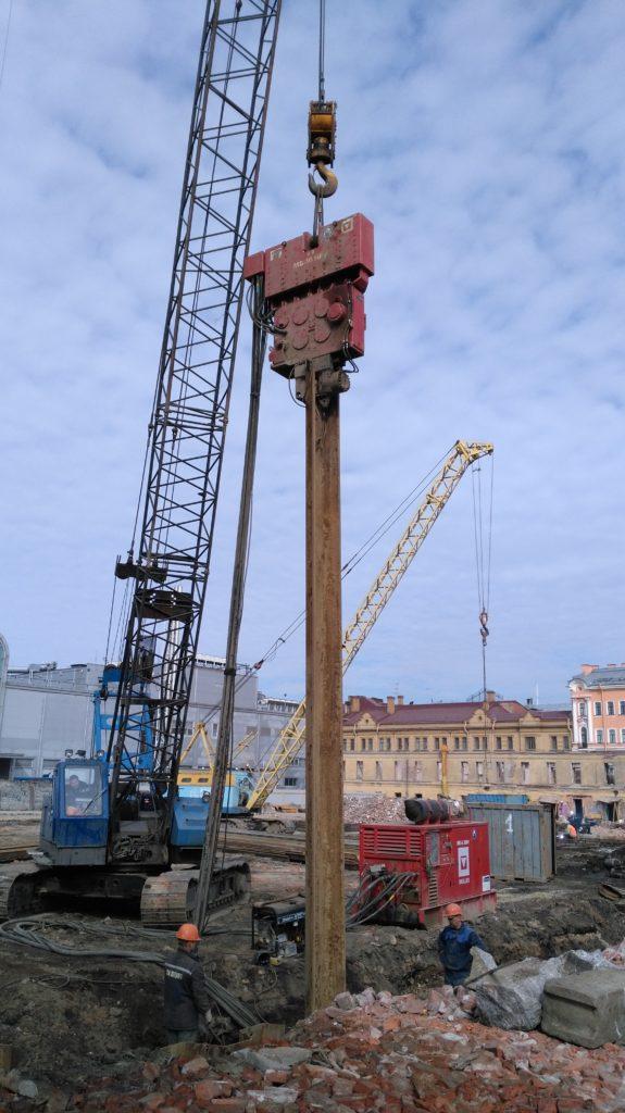 Строительство Новой сцены Академического Малого драматического театра